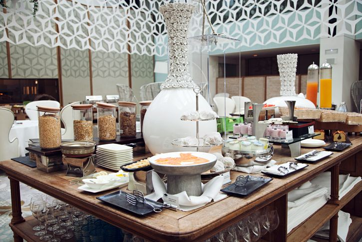 Breakfast at the mandarin oriental hotel in barcelona places to go pinterest buffet - Hotel mandarin restaurante ...