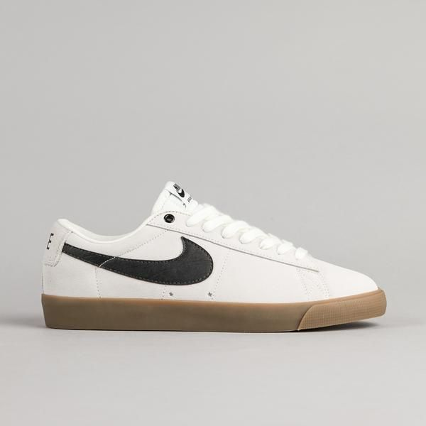 super popular 7b08a 0b2d1 Nike SB Blazer Low GT Shoes - Ivory  Black - Gum Light Brown