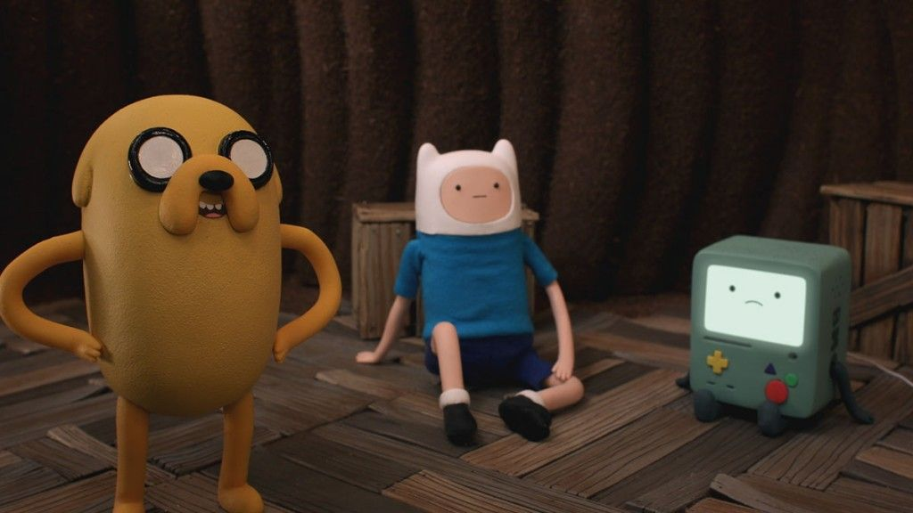 """CLIP: New """"Adventure Time"""" with First Stop-Motion Episode All Week ..."""