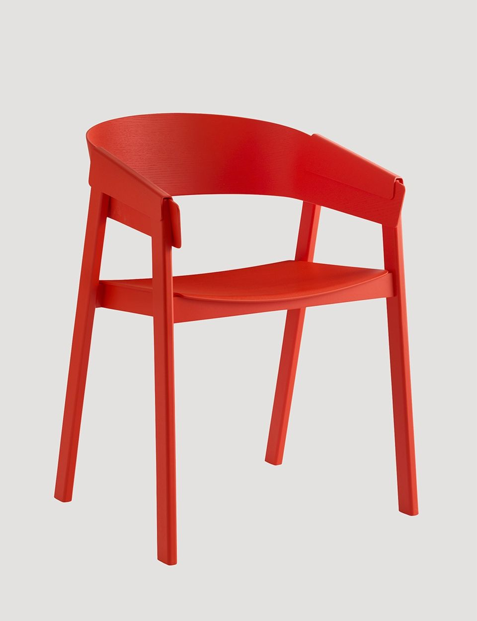 COVER Chair in red, designed by Thomas Bentzen #muuto #muutodesign
