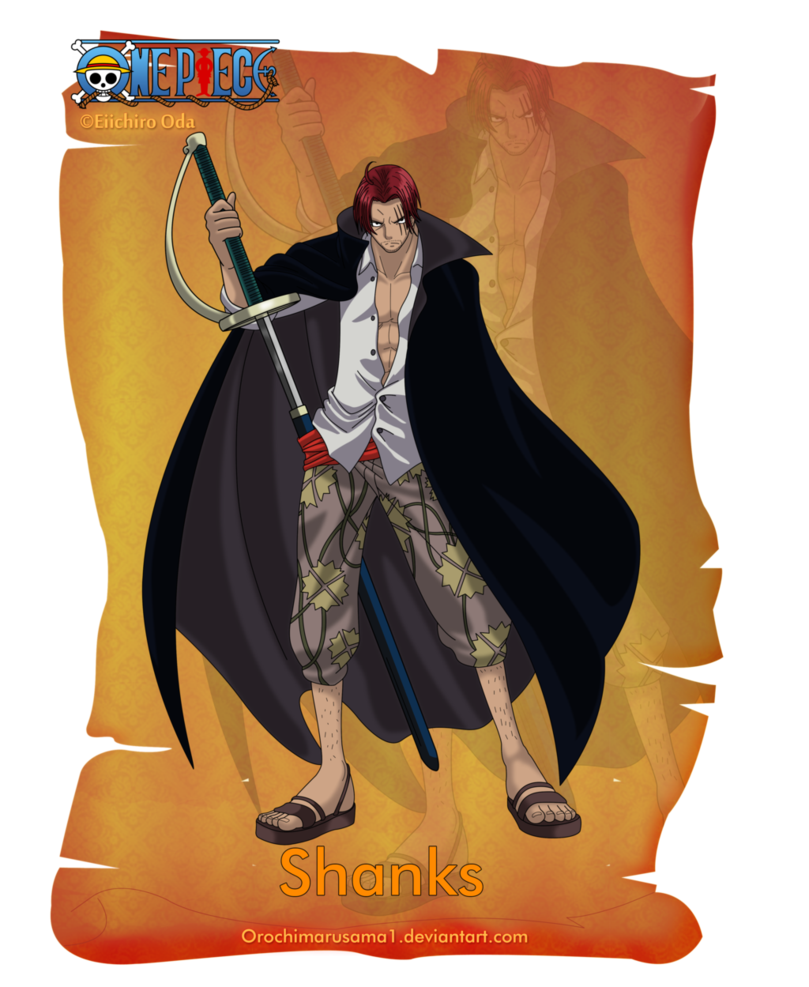 Shanks One Piece Pictures One Piece Manga Pirate Pictures