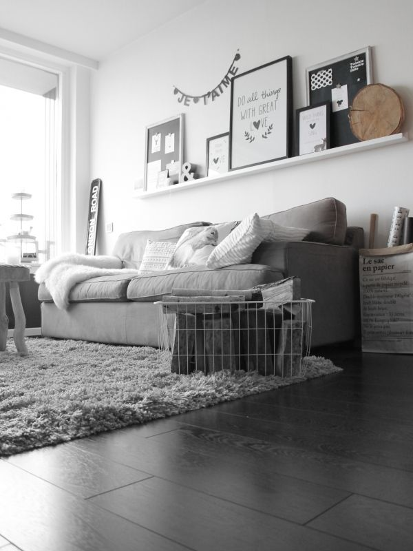 Scandinavisch & stoer interieur | Living room | Pinterest ...