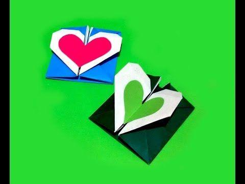 comment faire un coeur en origami cool stuff pinterest coeur en origami origami et. Black Bedroom Furniture Sets. Home Design Ideas