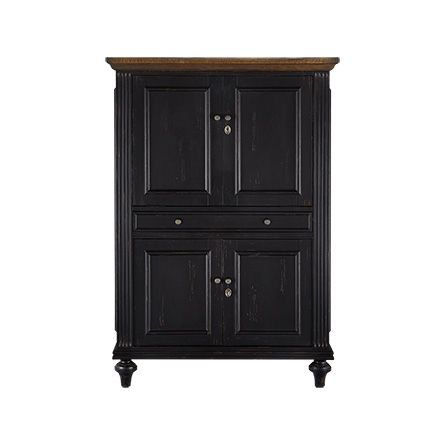 While Compact In Size The Beckett Computer Cabinet Is On Function Creating A