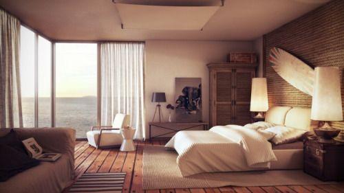 "homedesigning: "" (via Modern Beach House) """