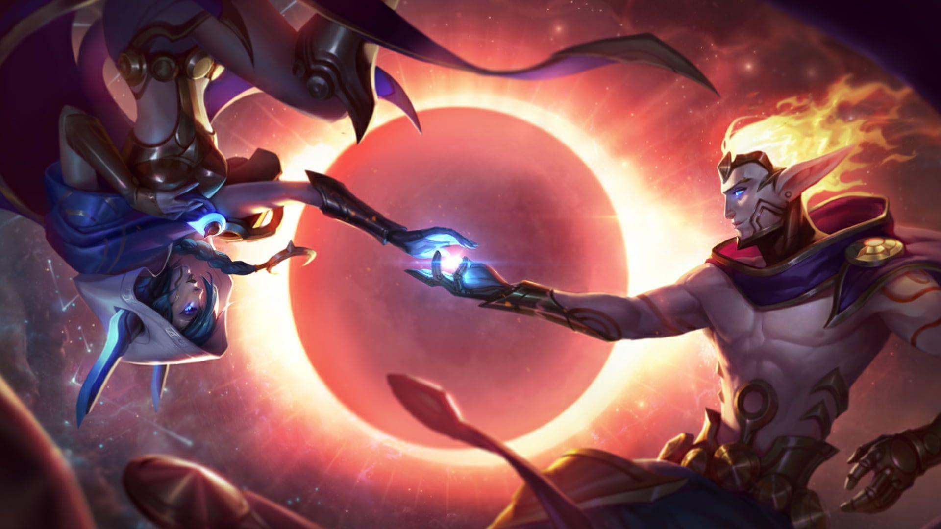 League Of Legends Rakan And Xayah Wallpaper Xayah And Rakan
