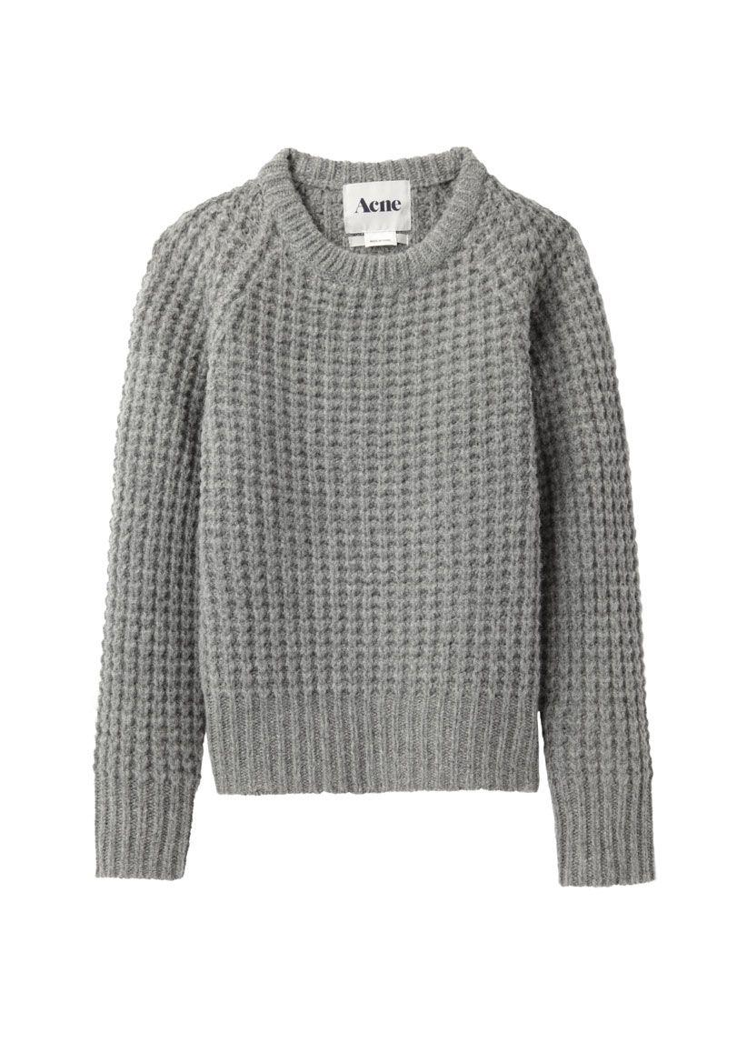 Tiltrukket af det enkle - som alligevel har så meget attitude! L  Acne Miniature / Mini Strindberg Sweater