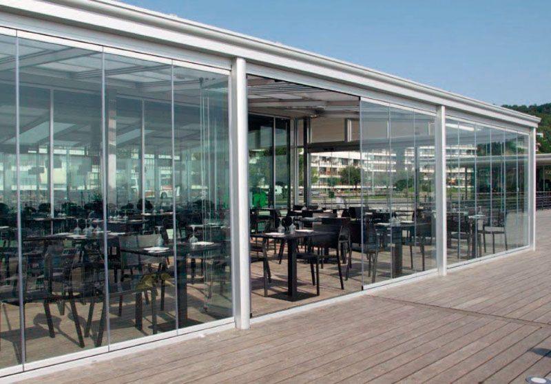 Seeglass cortina de cristal carpinter a exterior for Cortinas para cristales