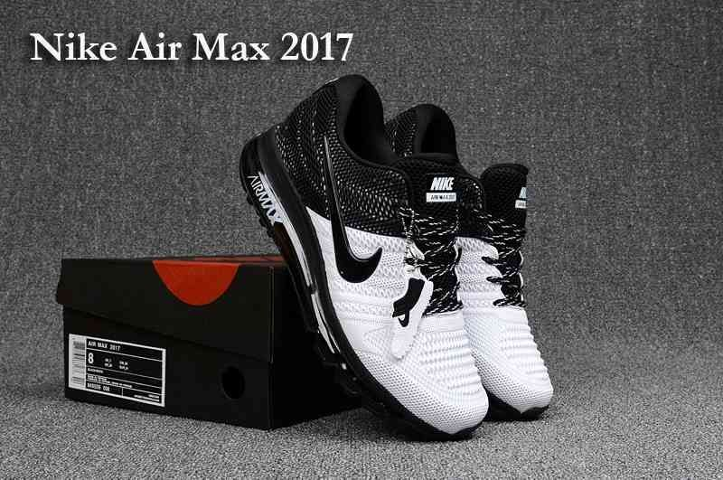 Clearance New Nike Air Max 2017 KPU Men Black White Online Store - $70.99