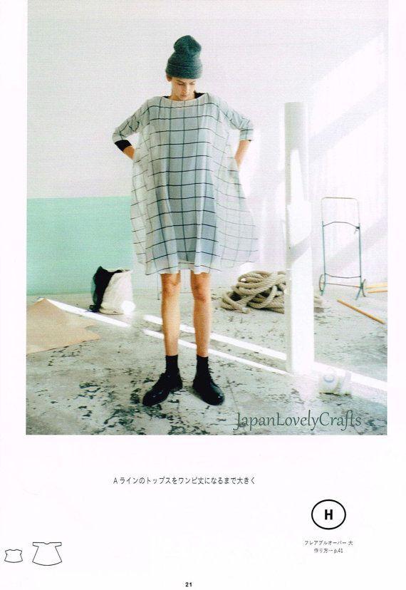 Simple Style Dress Patterns, Asuka Hamada, Japanese Sewing Pattern ...