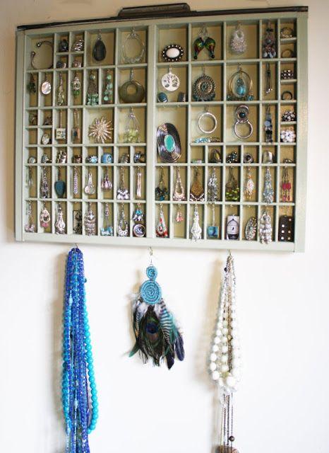 Earring Storage Drawer