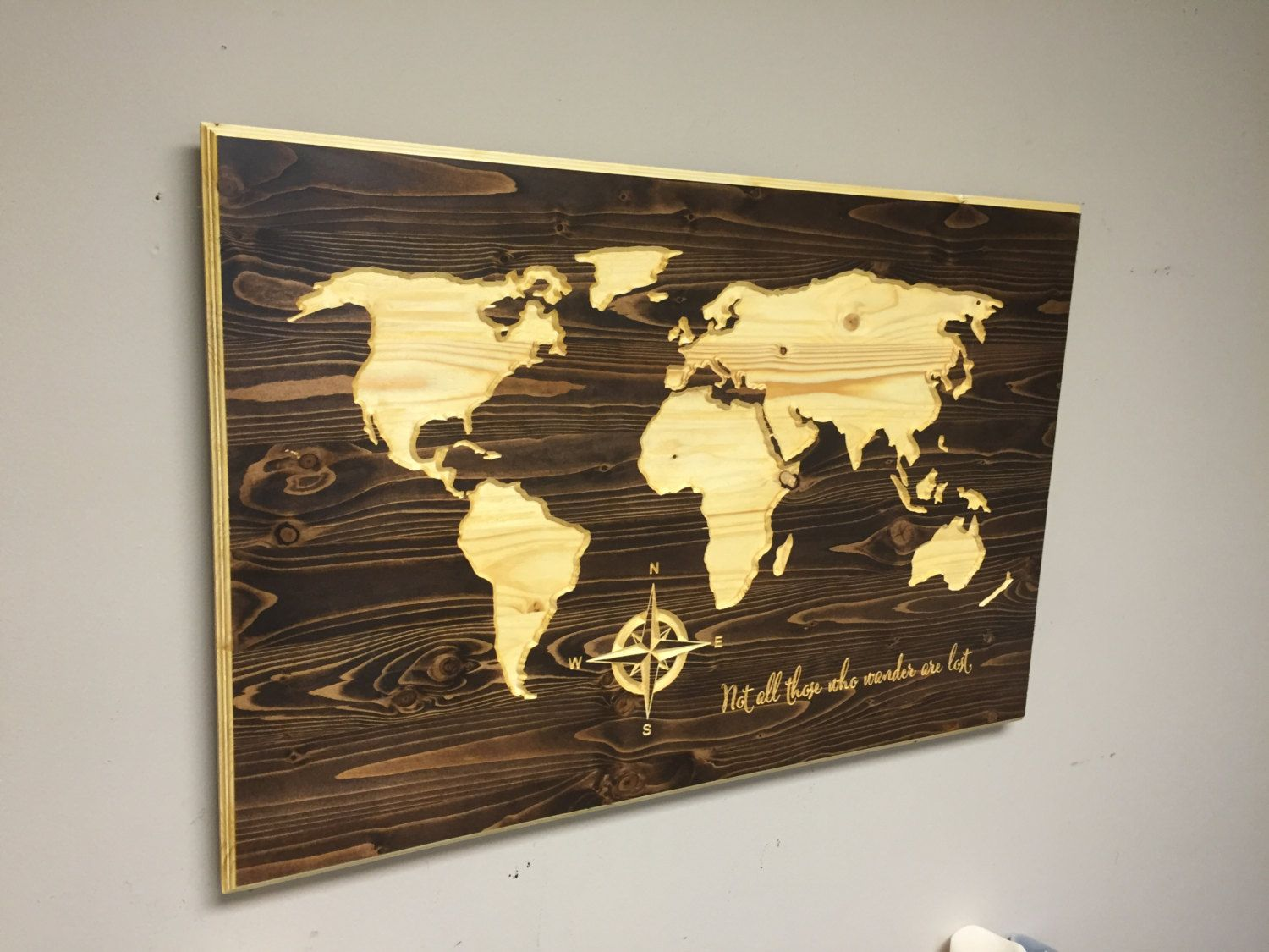 Wooden world map wall art wood world map wall art images world map wooden world map wall art wall decor instadecor gumiabroncs Image collections