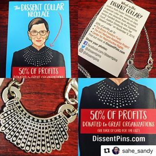 b87ae925d Dissent Pins - A tribute to Ruth Bader Ginsburg | Pins n Things ...