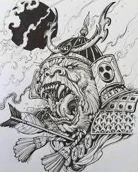 Resultado De Imagen Para Samurai Tattoo Draws Tattoos Samurai