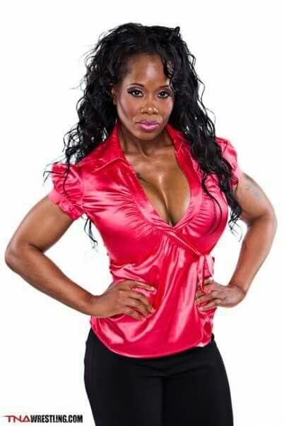 Ebony black female pro wrestlers photo 14