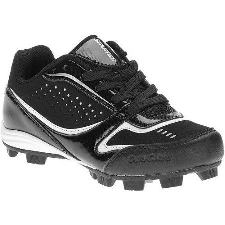 55ce8d430219 Starter Boys' Low Fusion Baseball Cleats, Size: 4, Black   Products ...