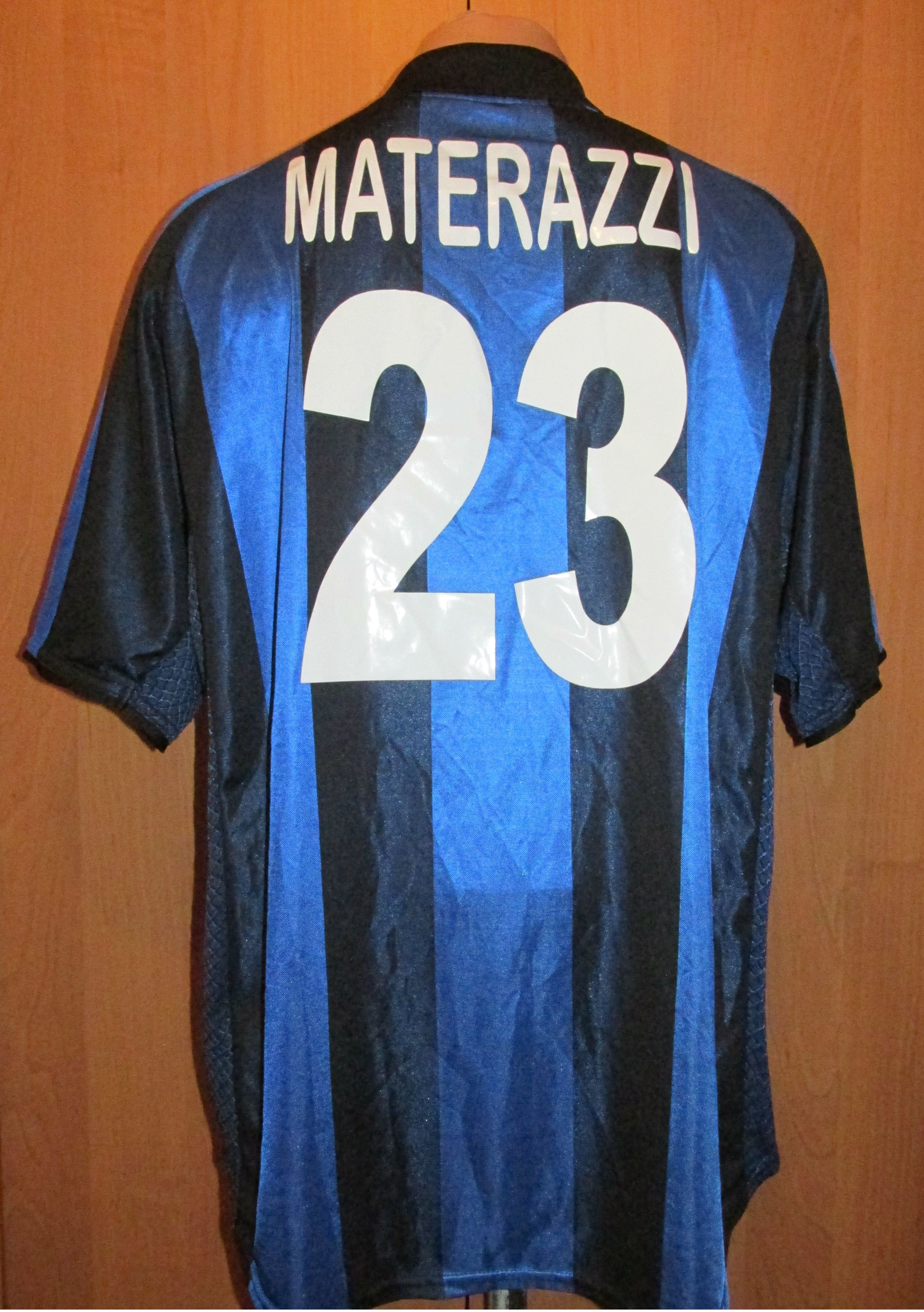new style 4ac31 d8169 Details about INTER MILAN 2004/2005 HOME FOOTBALL SHIRT ...