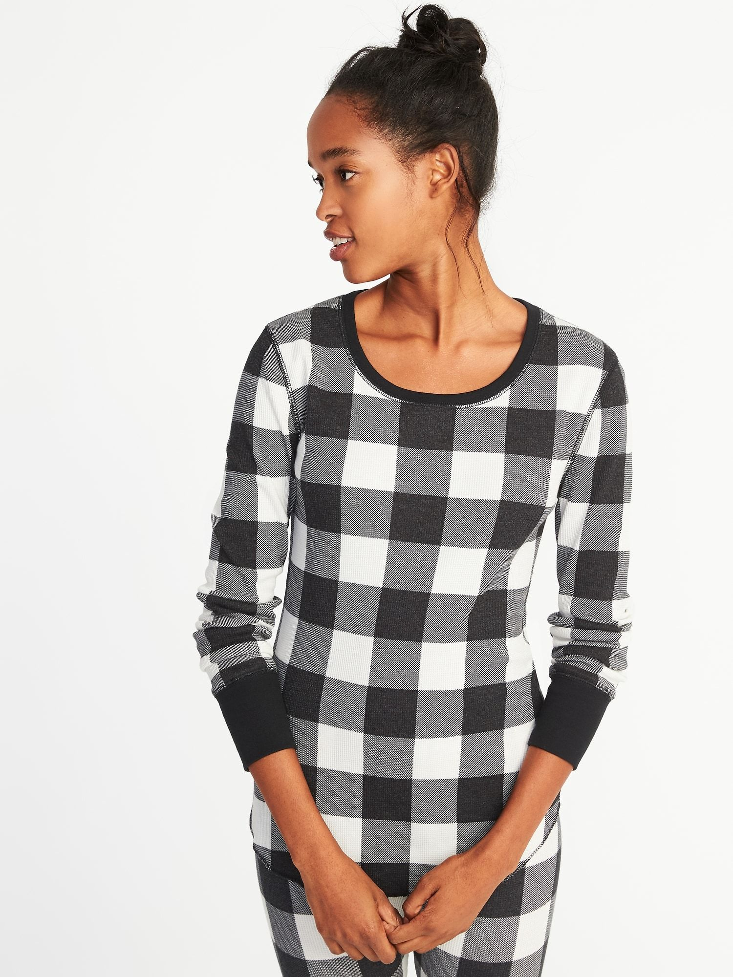 Fitted Thermal Tee for Women Old Navy Tees for women