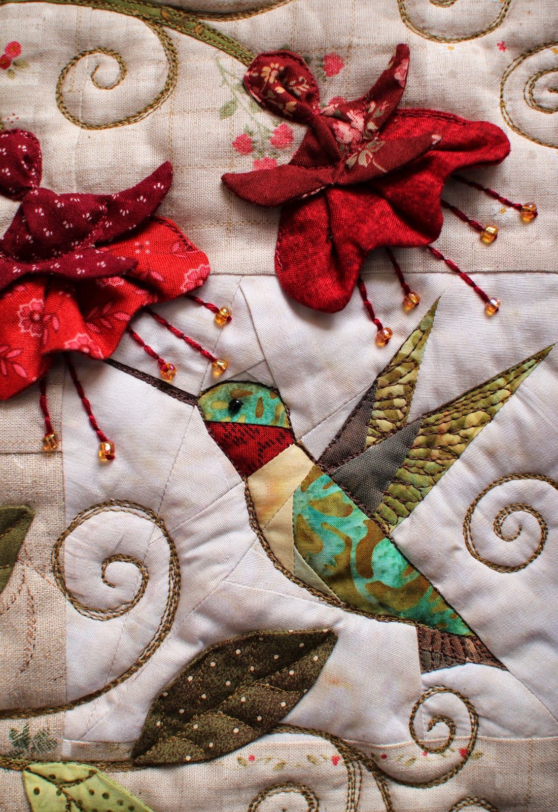 Hummingbird Pillow | Hummingbird, Pillows and Applique quilts : hummingbird quilts - Adamdwight.com