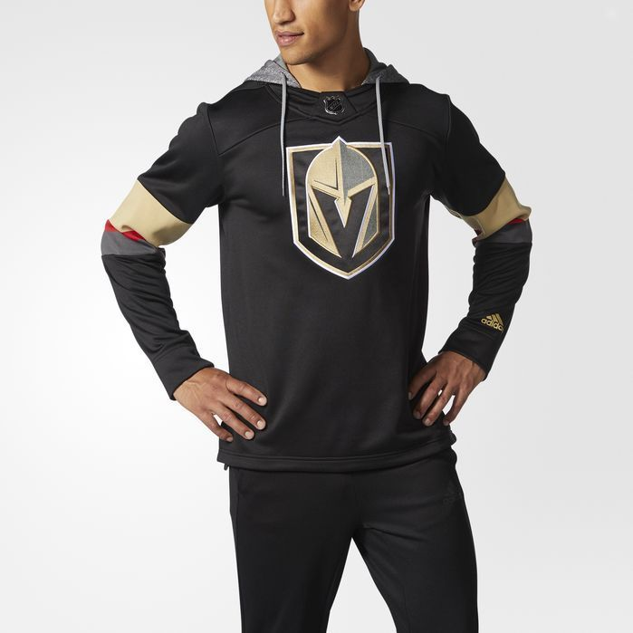 adidas Golden Knights Jersey Replica Pullover Hoodie - Mens Hockey Hoodies 31e3b0fdc