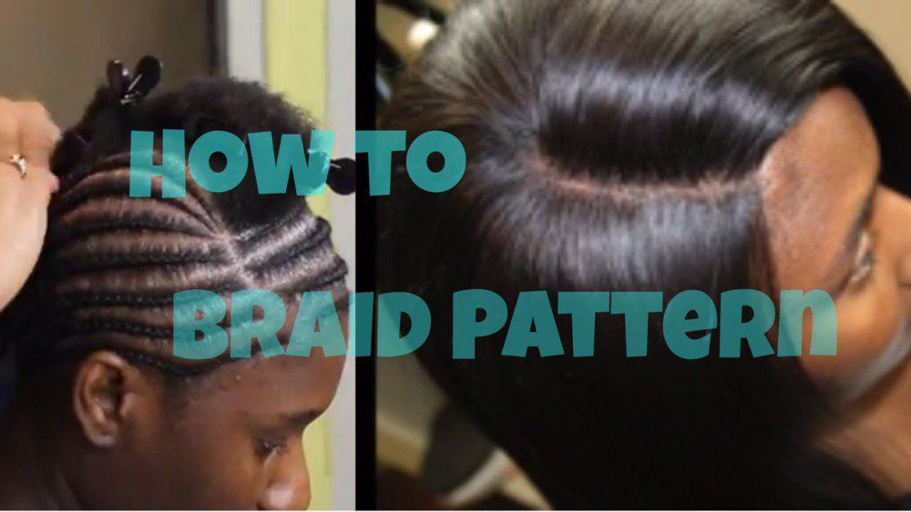 Lace Closure Sew In How To Braid Pattern Video Sew In