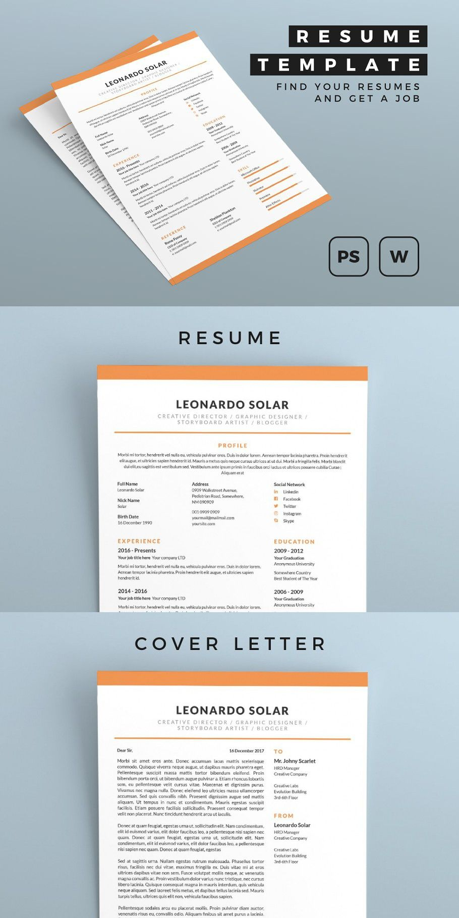 Resume in 2020 Simple resume template, Resume, How to
