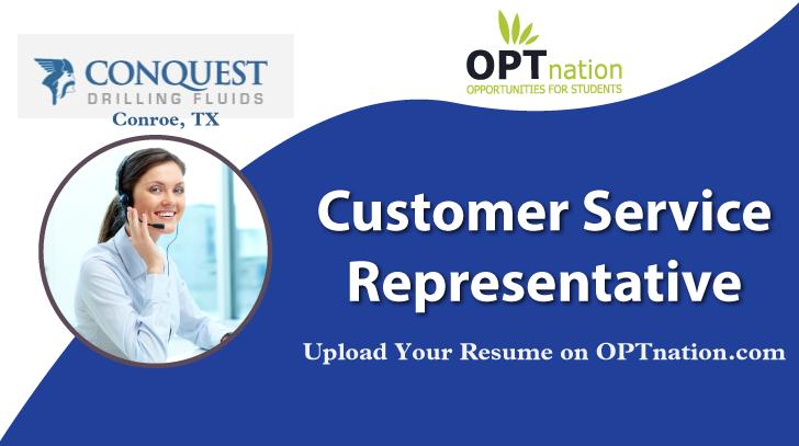 Customer Service Representative Job In Conroe Tx At Conquest