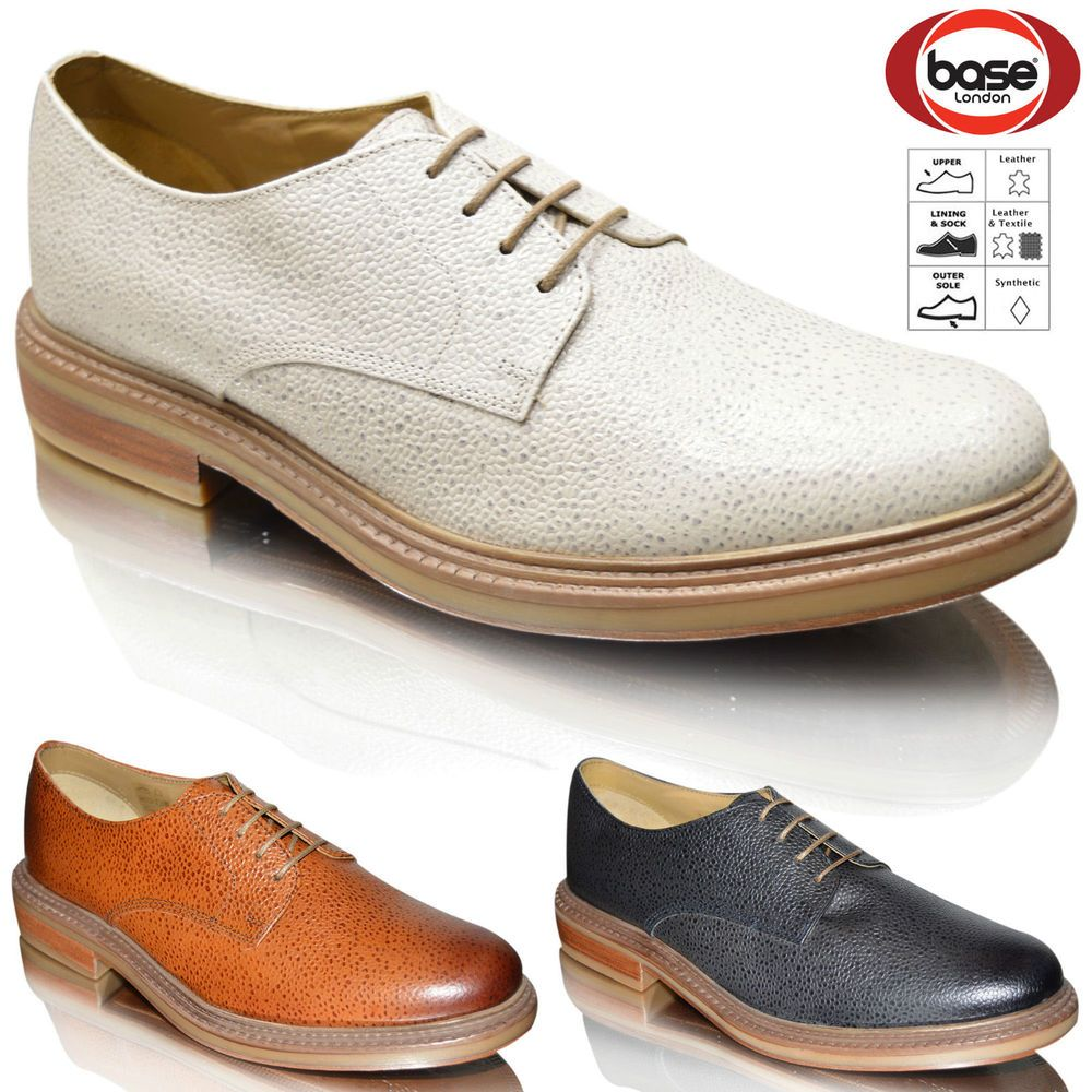 Details About Mens Gents Lace Up Authentic Leather Wedding