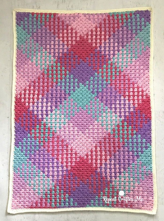 Crochet Color Pooling with Caron Simply Soft Stripes   Knit Happens ...