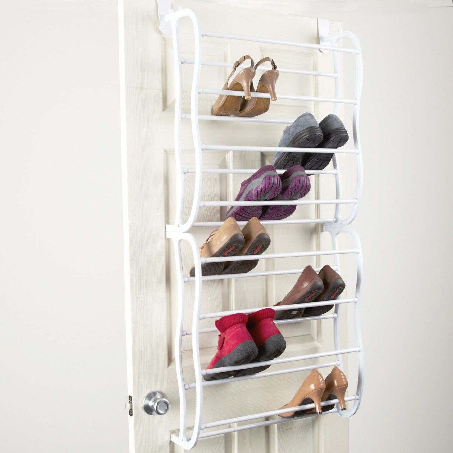 wall mounted shoe rack ideas