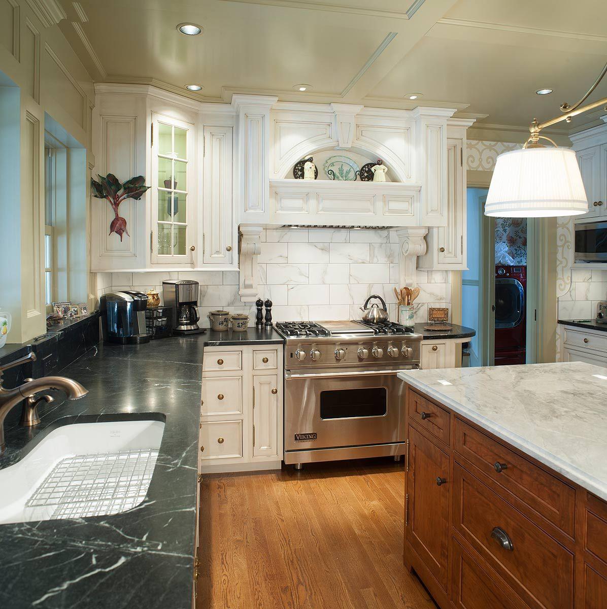 Custom Kitchen Cabinets With Soapstone Countertops Custom Kitchen Cabinets Kitchen Renovation Kitchen Design