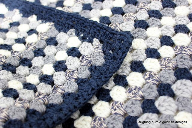 Granny stripe with link to attic's free pattern