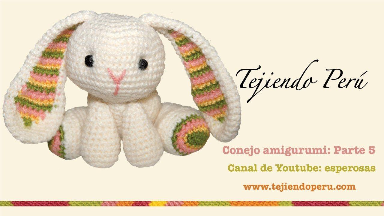 Conejo amigurumi (Parte 5: acabados) ♡   hračky   Вязание, Игрушки ...