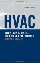 Hvac Equations Data And Rules Of Thumb 2nd Ed Equations Rule Of Thumb Hvac