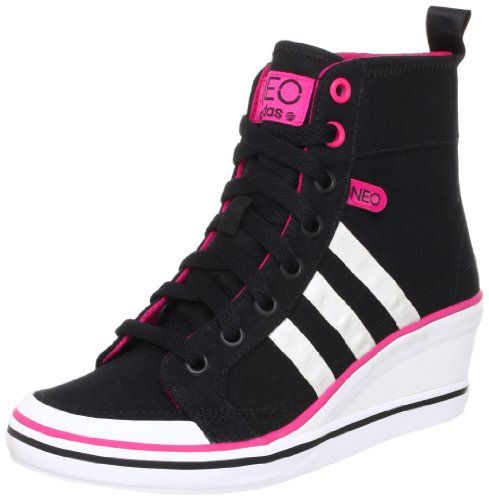 adidas sneaker keilabsatz wedge damen weneo bball hightop. Black Bedroom Furniture Sets. Home Design Ideas