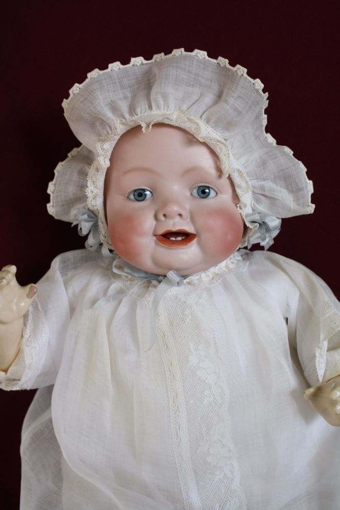 Bisque Antique Germany Porcelain Bisque Doll Head With Glass Eye Attractive Fashion