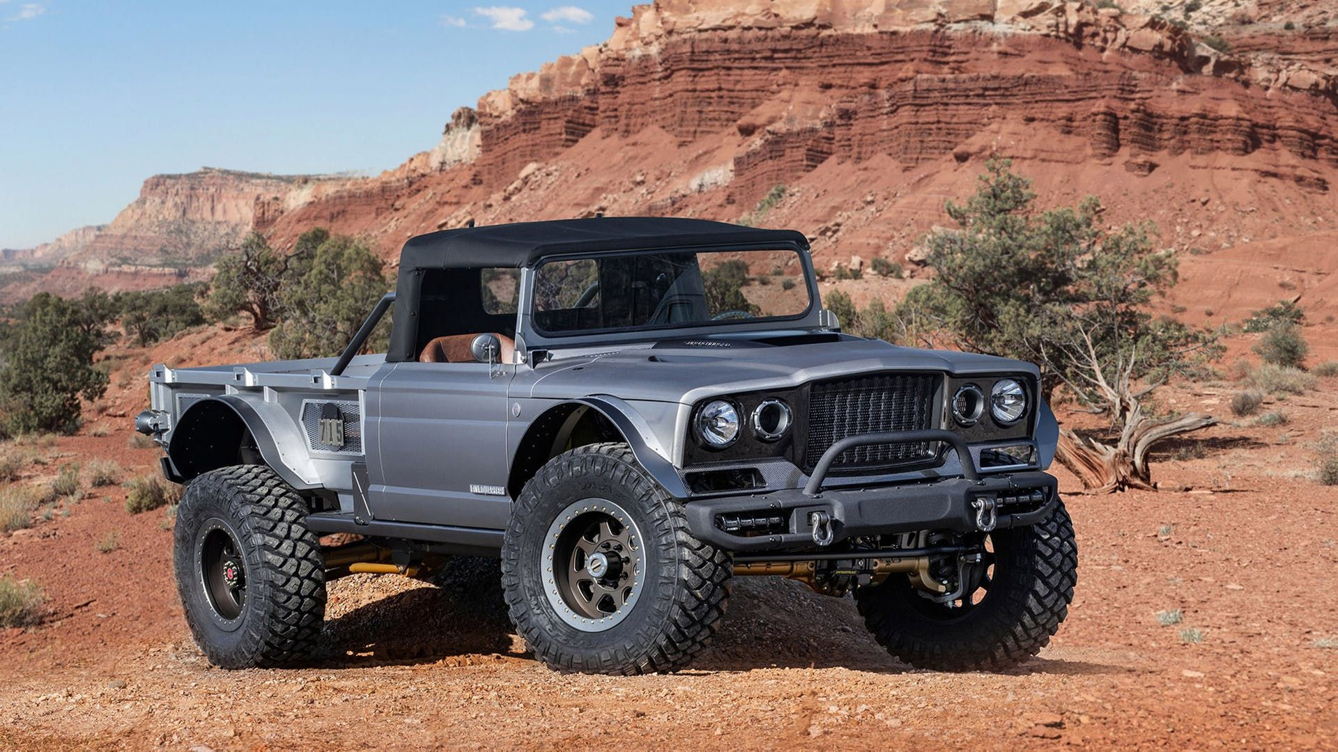 2020 Jeep Gladiator Pickup Truck Dominates 2019 Easter Jeep Safari Concepts The Drive In 2020 Jeep Concept Jeep Gladiator Easter Jeep Safari