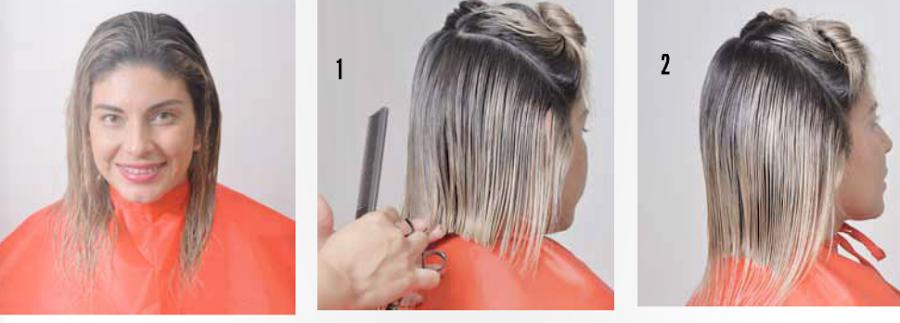 Como hacer cortes de cabello bob