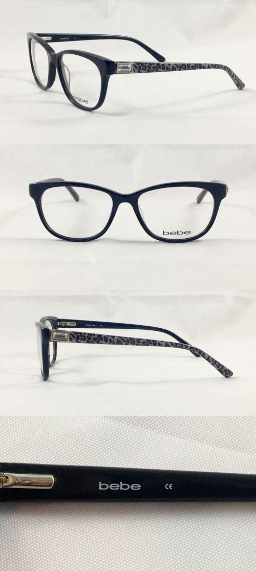 Fashion Eyewear Clear Glasses 179248: New Bebe Bb5078 Kickback (001 ...