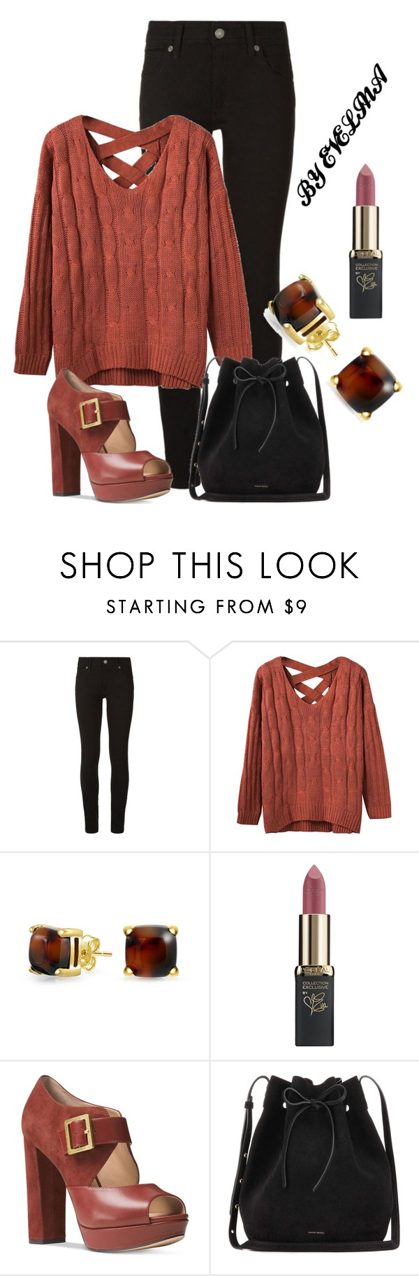 """""""EVE"""" by evelina-er ❤ liked on Polyvore featuring Burberry, Bling Jewelry, L'Oréal Paris, Michael Kors and Mansur Gavriel"""
