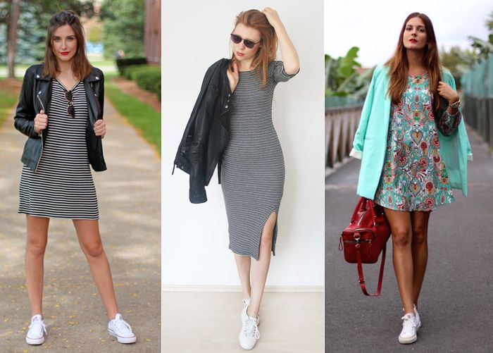 Tenis Com Vestido 1 Dresses Vestido Com Tênis Vestido
