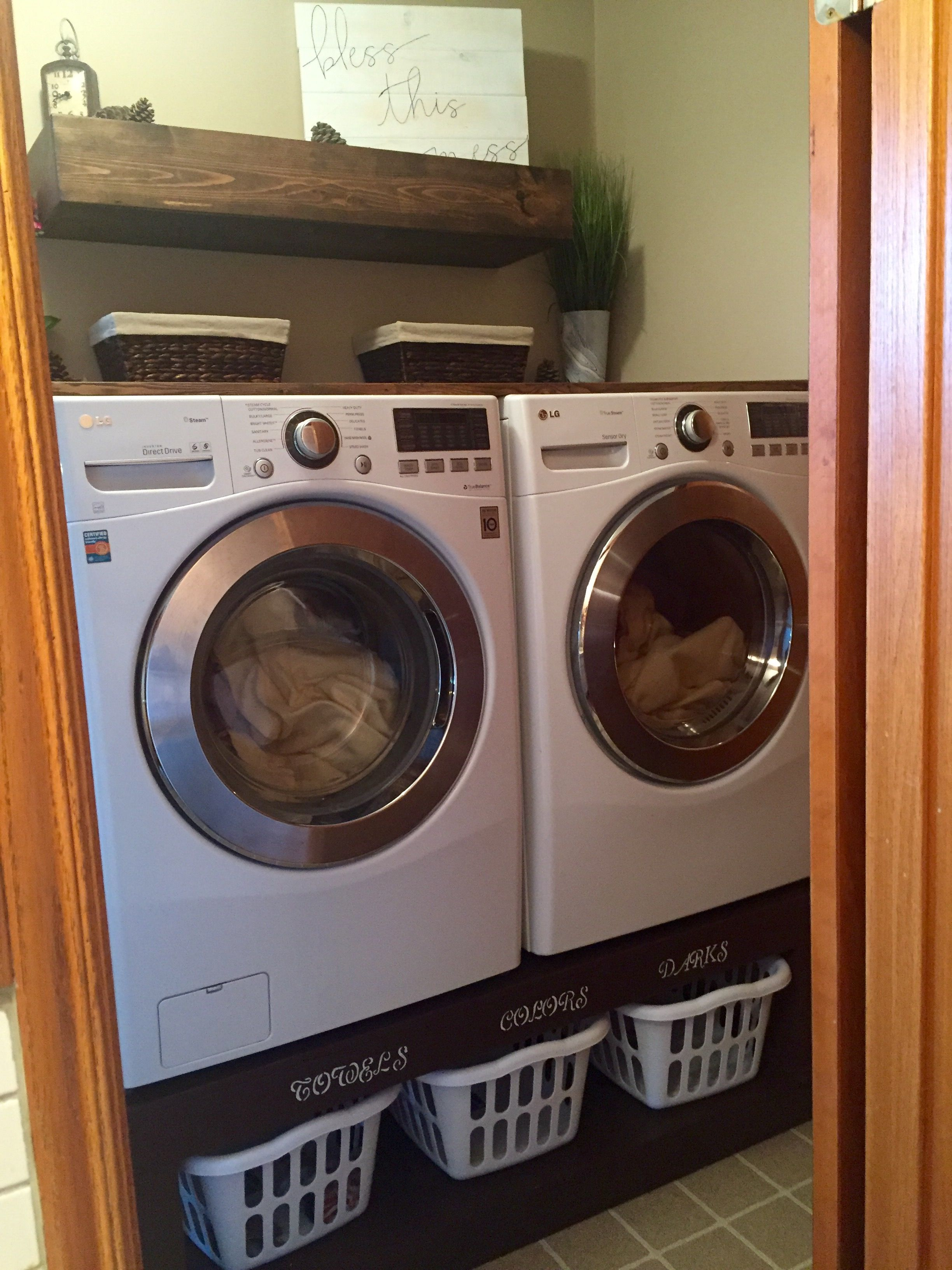 img your laundry edited build washer addicted own diy pedestal