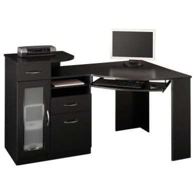 Black Corner Desk Is It Nice For Your Office Room Black Corner
