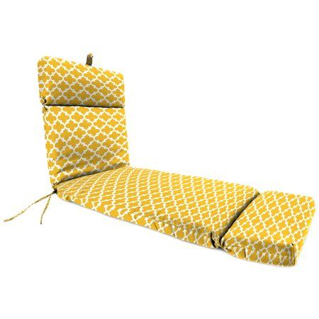 Outdoor 22 Inch X 72 Inch X 4 Inch Chaise Cushion Gold Chaise