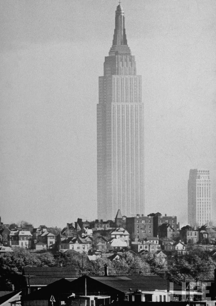 Empire State Building. Shreve Lamb & Harmon Assoc. Completed In 1931. Andreas Feininger