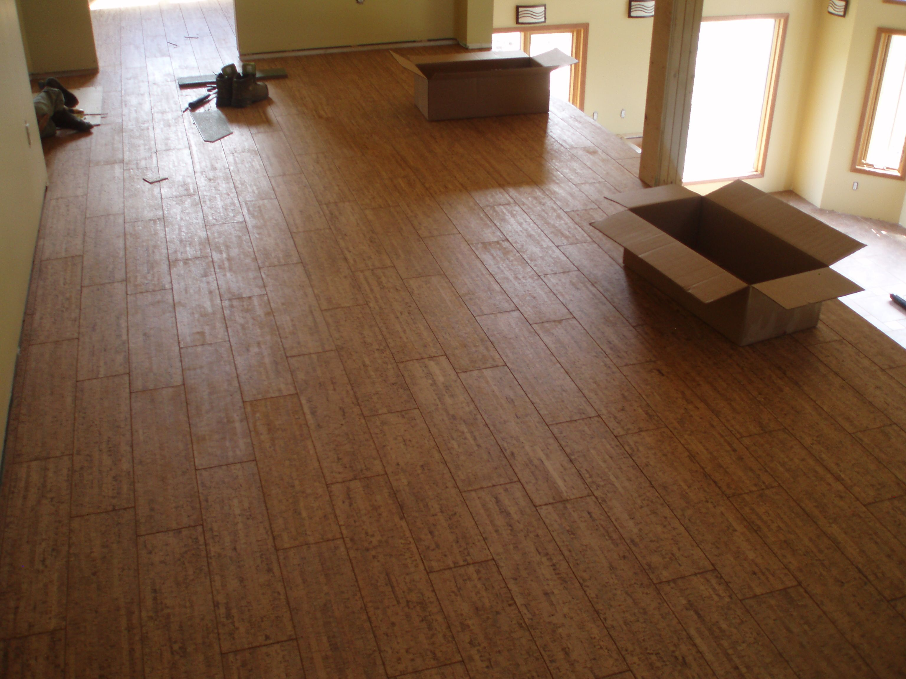 cork wood flooring - home design minimalist