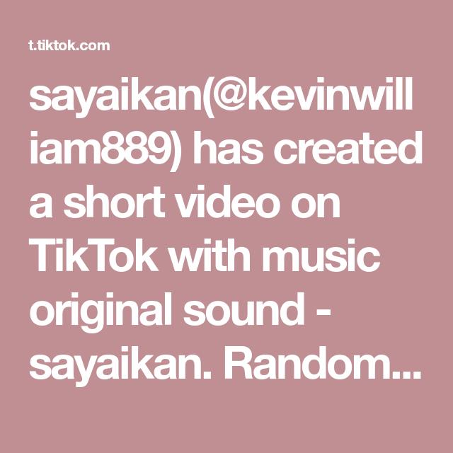 Sayaikan Kevinwilliam889 Has Created A Short Video On Tiktok With Music Original Sound Sayaikan Random Pick From Netijen Amongus A Fotografi Lucu Sketsa