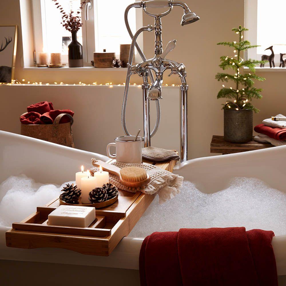 Auch Im Badezimmer Wird Es Kuschelig Bathroomgoals Winterimbad