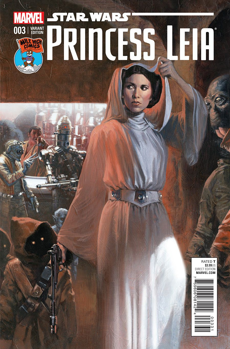 Princess Leia #3 - Variant cover by Mile High