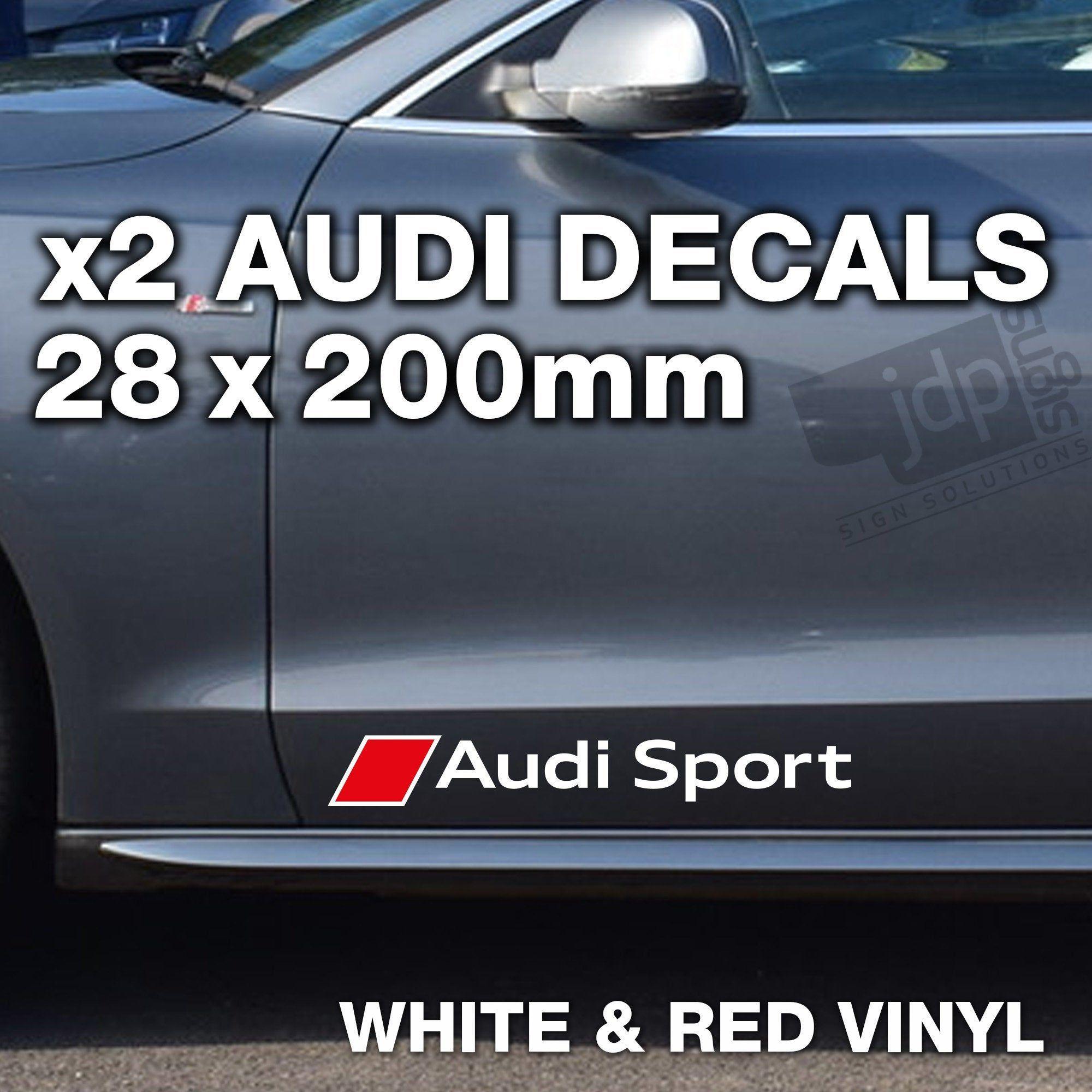 Audi Sport 2 X Door Side Skirt Decals Vinyl Stickers Etsy In 2021 Audi Audi Sport Vinyl [ 2000 x 2000 Pixel ]